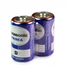 Panasonic Prima Battery Baterai Type D UM - 1U/2S (R20S)1.5V 2 Pcs