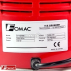 FOMAC Mesin Serut Gilingan Es Ice Crusher Double Blade ICH - 300BD