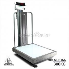 ALEXA Cahaya Adil Electronic Digital Scale Timbangan Digital Ferbeng TMR B 300KG Pagar