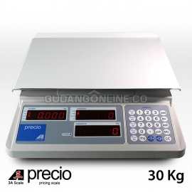 PRECIO Timbangan Buah Elektronik + Harga Precise Pricing Digital Scale 30 Kg