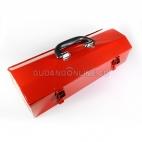 DOMAX Tool Box Kotak Perkakas Besi Kaleng Metal Ukuran 42 x 15 x 10,5 Cm