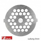 FOMAC Sparepart Saringan Mesin Gilingan Daging Grinding Plate MGD G31 Lubang 5mm