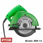 "RYOBI Mesin Circular Speed Saw 5,5"" 140mm MW-14"