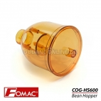FOMAC Bean Hopper Plastic Bowl Corong Mesin Gilingan Kopi COG HS600