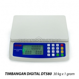 DT580 Timbangan Digital Meja Harga Price Computing Scale 30kg x 1gr